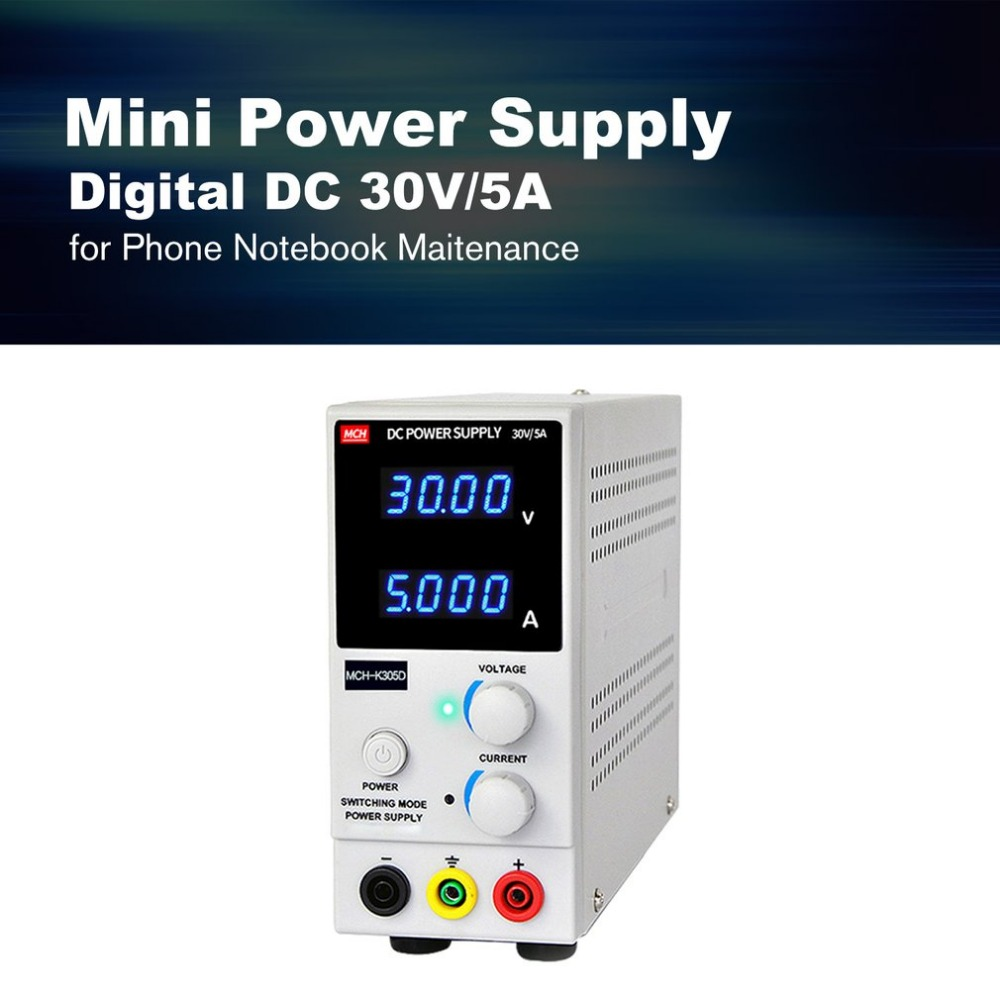 30V/5A Digital Mini DC Power Supply Current Volt Display Adjustable Switching for Mobile Phone PC Notebook Maintenance30V/5A Digital Mini DC Power Supply Current Volt Display Adjustable Switching for Mobile Phone PC Notebook Maintenance