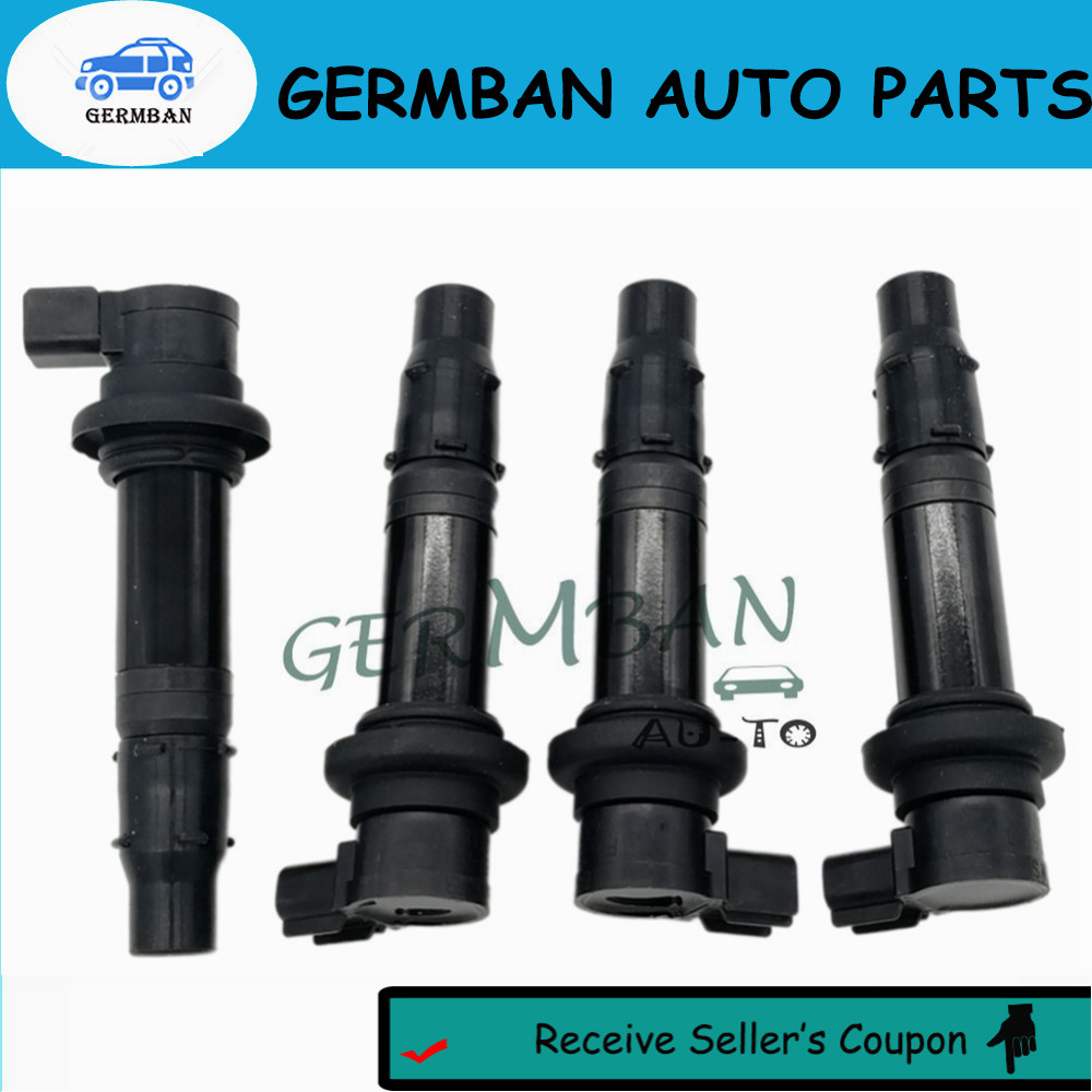 Newly &Fast Shipping!!4PCS/LOT Ignition Coil F6T558 for 2002-17 Yamaha YZF R1 R6 R6S VMX V Max No#5VY-82310-00-00 5VY823100000