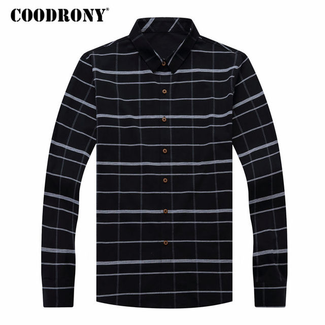 Business Casual Striped Long Sleeve Shirt