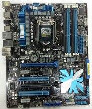 Livraison gratuite 100% d'origine carte mère pour ASUS P7P55D-E DDR3 LGA 1156 P55 16 GB pour I5 I7 CPU USB 3.0 De Bureau motherborad