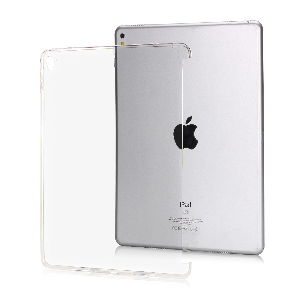 Rubber Silicone Case For Ipad Pro 9.7 Inch Silicone Transparent Clear Case For Ipad Slim Soft TPU Back Cover Model A1822