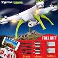 Nuevo llega el syma x5hw x5hc 6 ejes 4ch rc quadcopter drone con HD Cámara 360 Rodillo Fijo Helicópteros Alto Vuelo Estacionario WIFI En Tiempo Real juguete