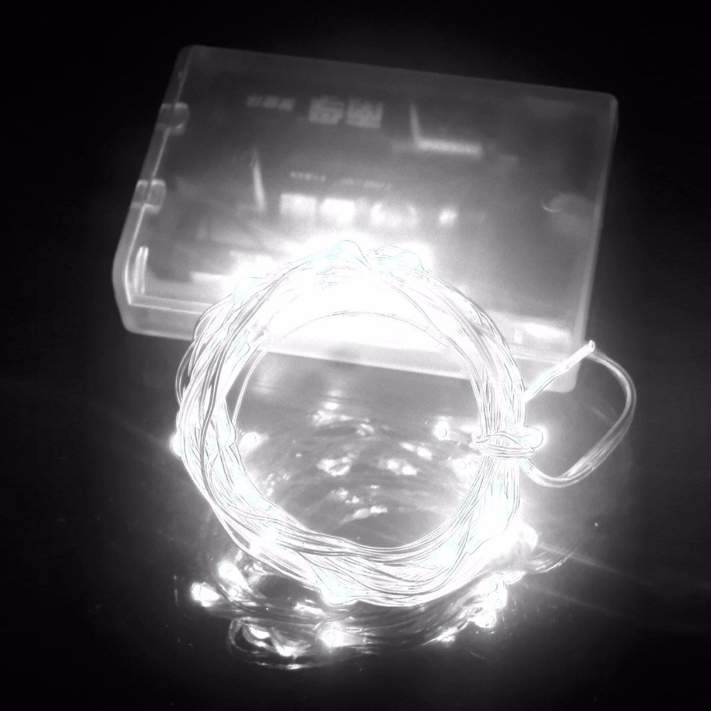 1Pc 3M 30 LED Copper Wire Fairy String Light Battery Powered LED ...