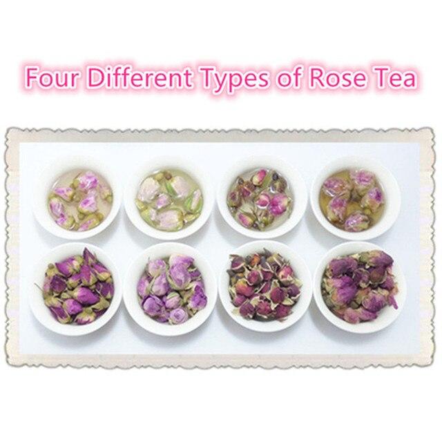 4 Verschiedene Arten Von Rosen Knospen Tee Teawe Blume Tee Fur