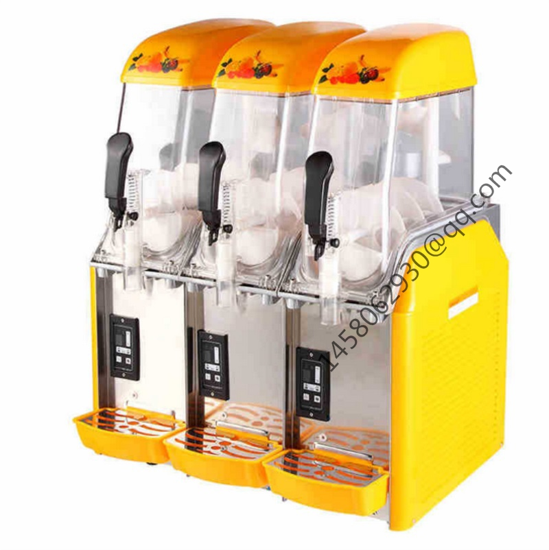 Competitive Price three Tank Ice Slushy Slush Machine Slush Maker Ice Slush Machine цена и фото