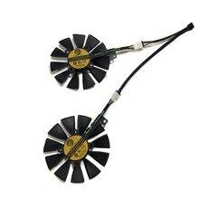 2 шт./компл. PLD09210S12HH EX-GTX1070 EX-GTX1060 GPU видео кулер вентилятор для ASUS GeForce GTX 1070/1060 DUAL Графика охлаждения