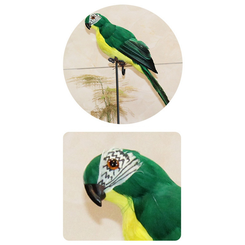HTB1RgFda5DxK1Rjy1zcq6yGeXXao - Simulated Parrot For Show Window Easy To Stand No Lint