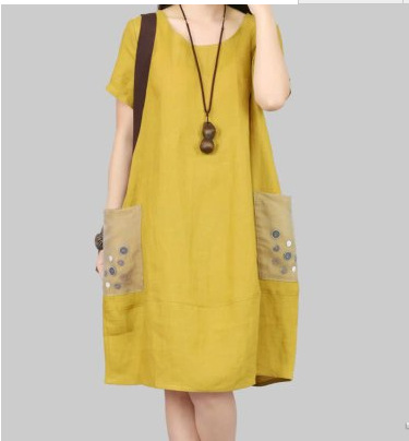 278139639f Plus Size Linen Dresses For Women Online Clothing Shop Casual Dress ...