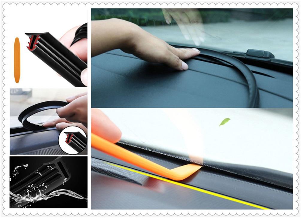 >Car accessories sticker leakproof rubber soundproof sealing <font><b>strip</b></font> <font><b>for</b></font> <font><b>Ford</b></font> Taurus Mondeo Galaxy Falcon Everest S-MAX Escort