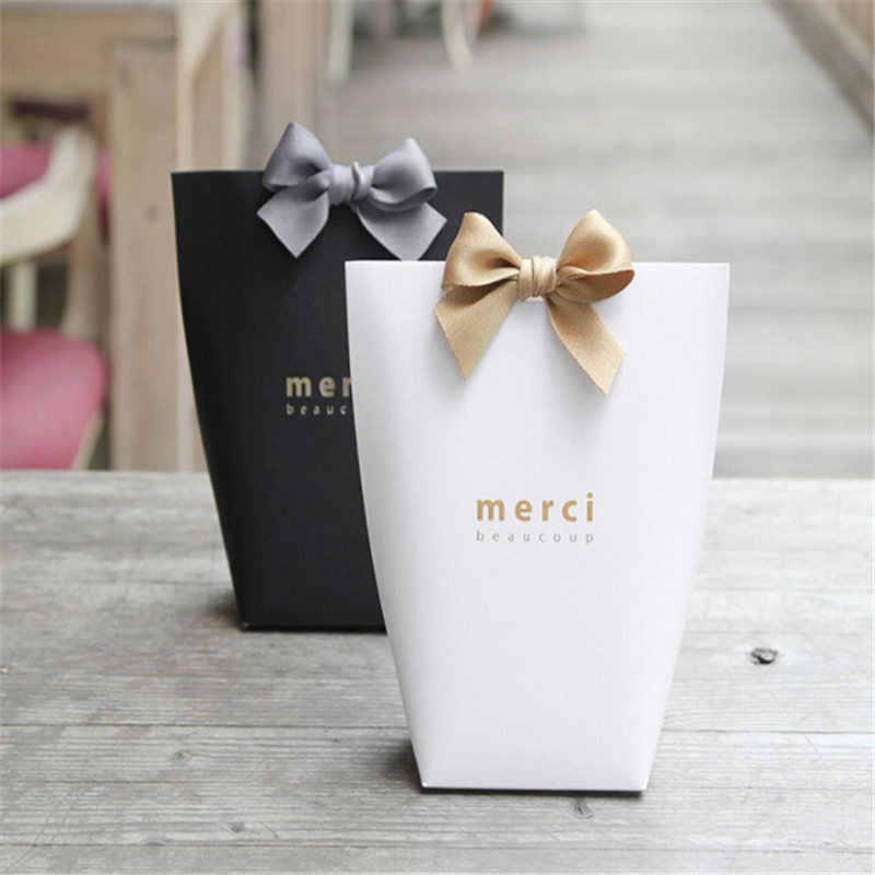 Hadiah Kotak Permen Pesta Pernikahan Favor Kotak Hadiah Anti Gores Kotak Manis Terima Kasih Hadiah Pesta Pernikahan Permen Holder tas