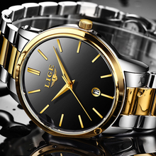 LIGE Ultra thin Fashion Male Wristwatch 2018 Top Brand Luxury Business Watches Waterproof Scratch-resistant Men Watch Clock +BOX