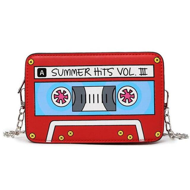 сумка оригинальная в виде кассеты 5
