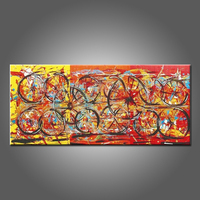 Wholesale High Quality Abstract Oil Painting Artist Design Unique Living Room Wall Artwork Hand Painted Abstract