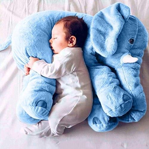 Éléphant en peluche oreiller en peluche Pals coussin en peluche