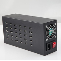 30 Ports 400Watt 80A usb charger mobile phone charging power supply bulk product aging test power supply