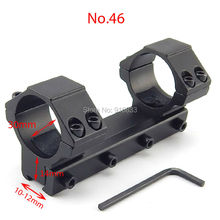купить Free Shipping 11mm Aluminum Integral Air Rifle Scope Mount 30mm Diameter Tactical Dovetail Rail Mount Rings Hunting Accessories дешево