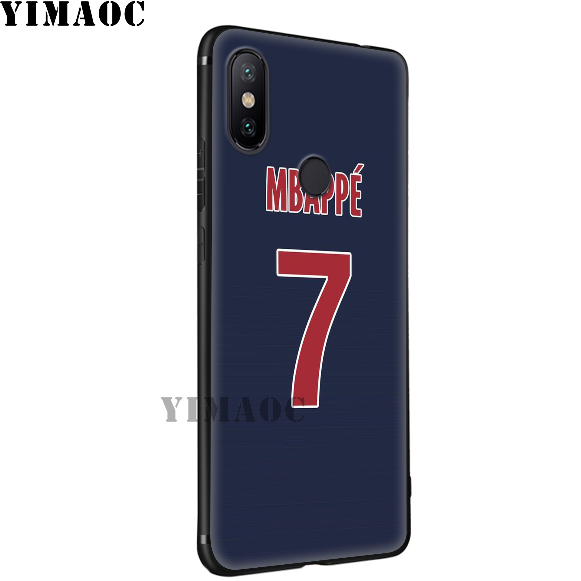 YIMAOC Mbappe football Pogba Soft Silicone Case for Xiaomi Redmi 7A Note 7 6 6A 5 4 4X 4A 5A 5 S2 Plus K20 Pro Lite in Fitted Cases from Cellphones Telecommunications