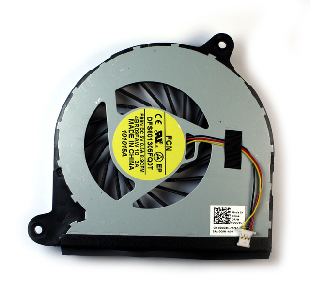 New laptop CPU Cooling Fan for Dell Inspiron 17R 5720 7720 3760 P/N DFS601305FQ0T