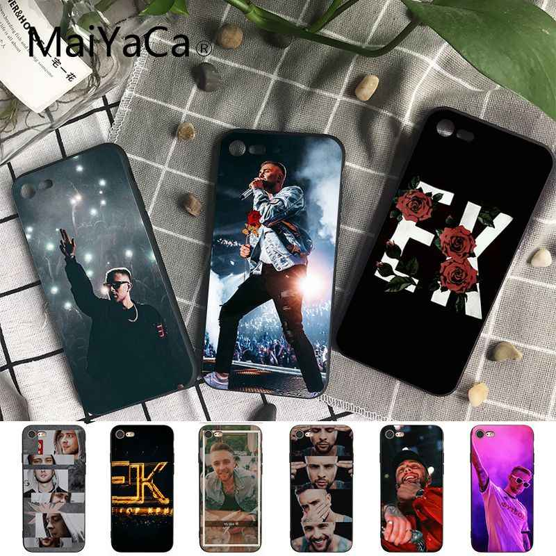Maiyaca Egor Kreed ใหม่มาถึงสีดำสำหรับ iPhone 8 7 6 6S Plus 5 5S SE XR X XS MAX Coque Shell