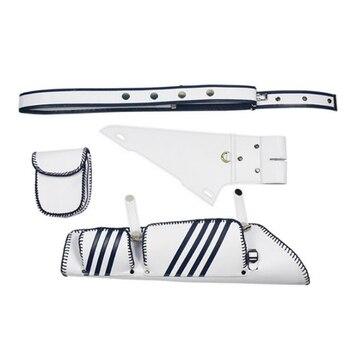 Archery Arrow Quiver Holder 24pcs Arrow Bag Case Compound Bow White Arrow Quiver Recurve Bow Arrow Bag