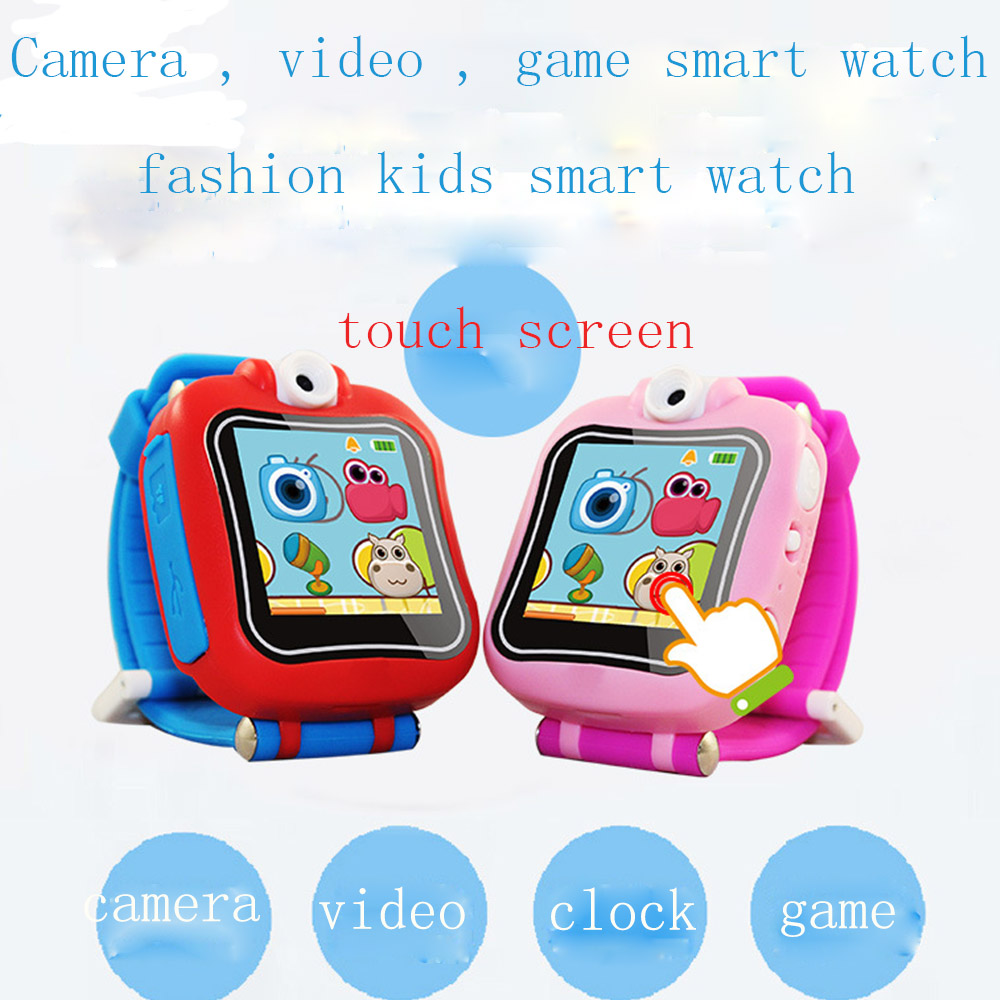 2018 Game Watch Kids Smartwatch 1.5 touch screen Electronic kids baby smart Watch with Video Camera Games kids smart watch