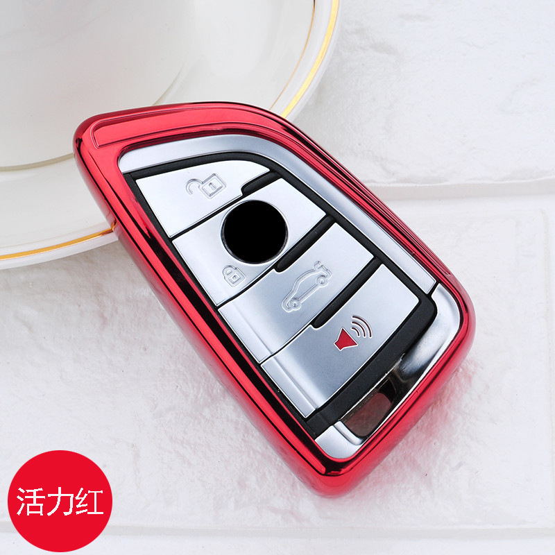 Image 4 - Soft TPU Car Key Case Key Cover Key Shell Protector for BMW X5 F15 X6 F16 G30 7 Series G11 X1 F48 F39 Accessories Car Styling-in Key Case for Car from Automobiles & Motorcycles