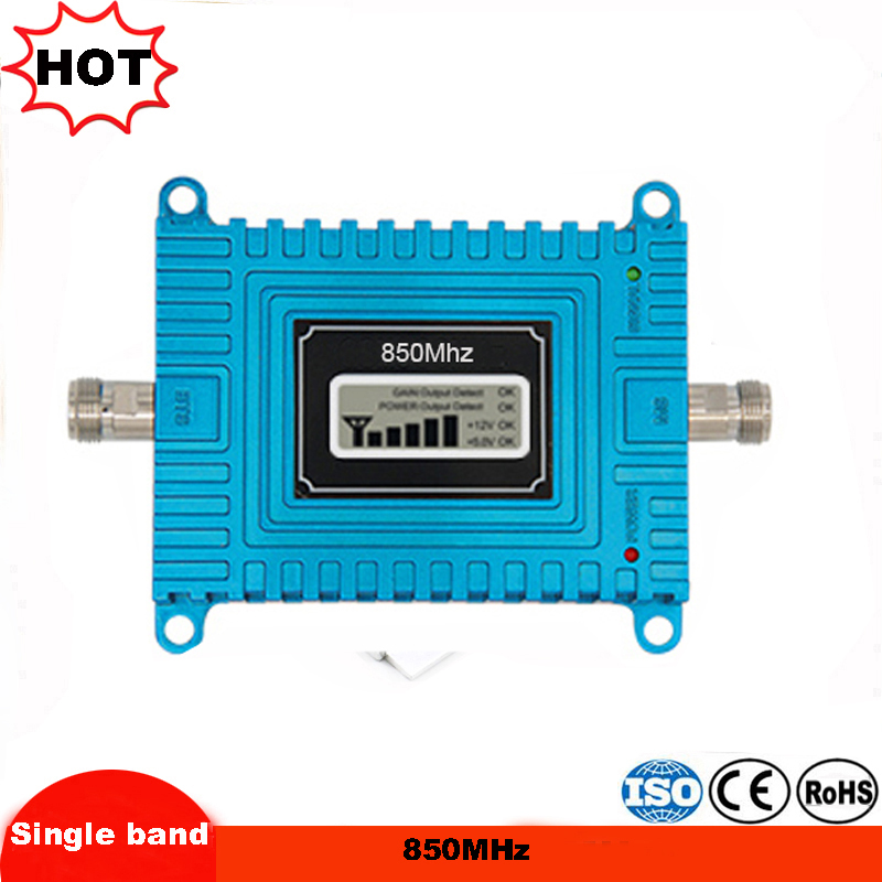 2G 3G <font><b>850mhz</b></font> repeater Mobile phone signal booster 2G 3G cell phone signal booster repeater cellular signal amplifier kit image