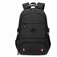 Оксфорд мужской рюкзак повседневная школьная сумка Внешний USB зарядки компьютер рюкзаки для подростков Водонепроницаемый дорожная сумка Mochila