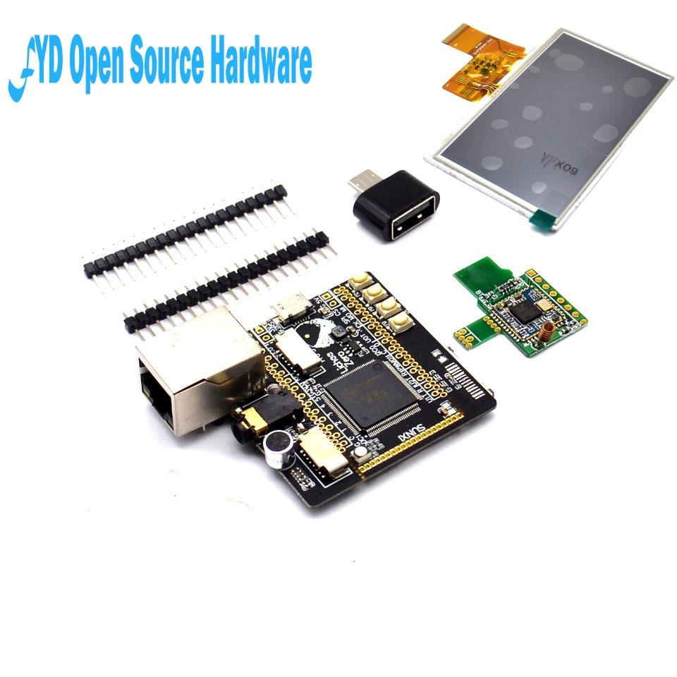 Micro USB Lichee Pi Zero Allwinner V3S ARM Cortex-A7 Core CPU Linux Development Board 512Mbit DDR2 Integrated RGB LCD DIY Kits