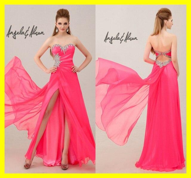 Vestido de fiesta barato tiendas abrir volver vestidos de cola de ...
