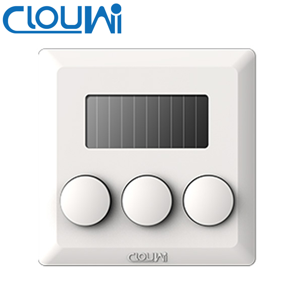 Clouwi Three Way Remote Control Wireless Wall Switch with button-in ...