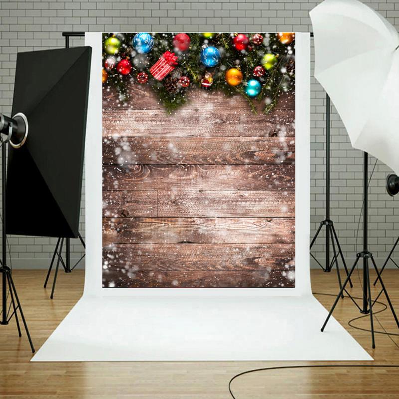 3x5ft Weihnachten Hintergrund Ballon Retro Vinyl Studio Foto Kulissen Fotografie Requisiten Live-streaming 3d-effekt Hintergrund