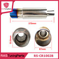 Burned Blue Hi Power Universal 304 Stainless Steel Car Exhaust  Racing Muffler Tip RS-CR1002B