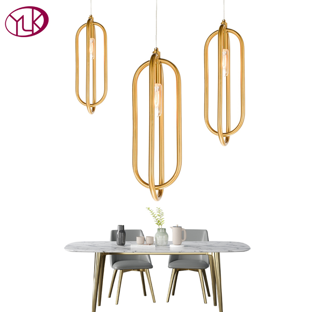 Youlaike Modern LED Pendant Light Nordic Living Room Kitchen Designer Hanging Lamps Suspension Luminaire AC100-240V