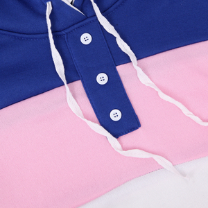 Image 5 - 2Pcs חדש אופנה נשים מזדמנים אלסטי מותניים הדפסת אימונית הסווטשרט סווטשירט סוודר מכנסיים Jogger תלבושות סט