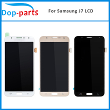 цены на 100Pcs Top Quality LCD Display For Samsung Galaxy J7 J700F J700M J700H LCD Touch Screen Digitizer Assembly Replacement Parts  в интернет-магазинах
