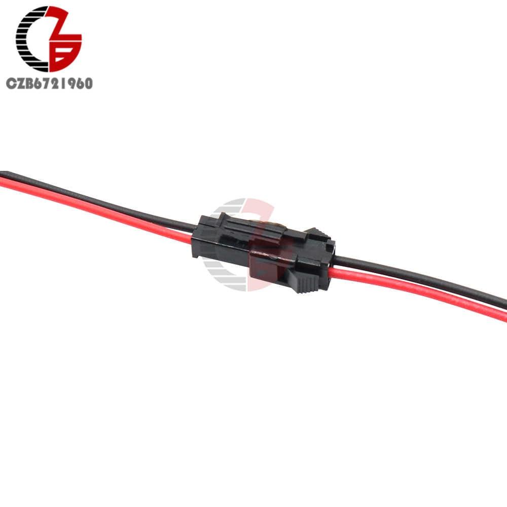 5 زوج 15 سنتيمتر SM 2Pin 3Pin ذكر إلى أنثى موصل من نوع جيه إس تي كابل توصيل ل LED ستارة مصممة بأشرطة منفصلة إضاءة الخزانة سيلينج النازل