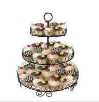 3 Tier Square Cake Stand Or Cupcake Stand Cake Decoration Wedding Cup Cake Stands Birthday Party