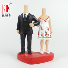 Wedding Gift Wedding Cake Topper Personalized Custom real doll custom clay dolls fixed resin body SR128
