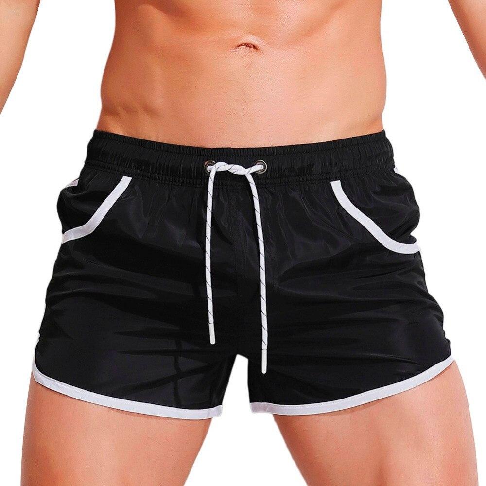 Mens 2018 Mens Breathable Swim Trunks Pants Swimwear Shorts Slim Wear Bikini Swimsuit boys swimwear boys swimming trunks