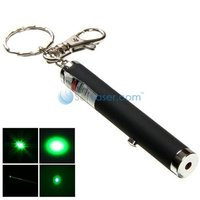 HIGH POWER 30MW 532NM GREEN LASER POINTER PEN WITH KEYCHAIN