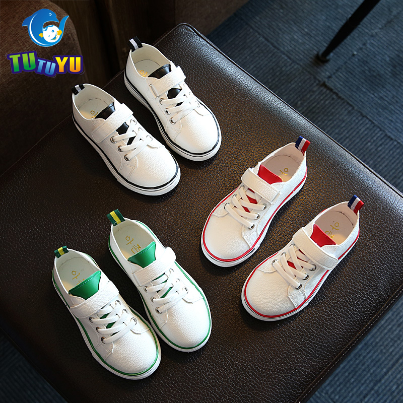TUTUYU Children Causal Shoes Spring Kids Shoes Boys Girls Sneakers New Children Breathable Canvas Causal