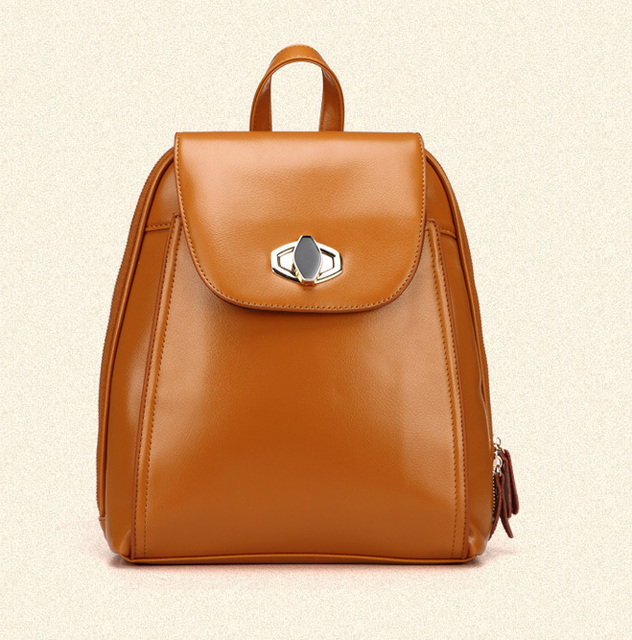Aliexpress.com : Buy 2015 Backpack Campus Style Women Leather ...