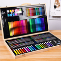 Детская Подарочная коробка для рисования  инструменты для рисования  набор акварельных ручек для начальной школы  принадлежности для худож...