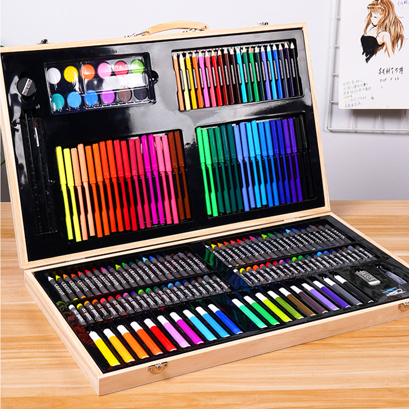 Children's Painting Gift Box Painting Tools Primary School Watercolor Pen Painting Set Painting Sketch Art Supplies