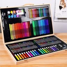 Çocuk boyama hediye kutusu boyama araçları İlköğretim okulu suluboya kalem boyama seti boyama eskiz sanat malzemeleri