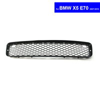 For BMW X5 E70 2007 ~ 2010 Car Front Center Lower Bumper Grille Auto Racing Grills Free Shipping