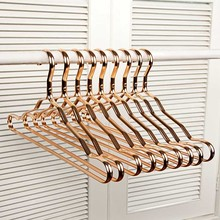 Get more info on the Aluminum alloy hanger thickened household clothes rack metal hanger adult Non-slip seamless hanger