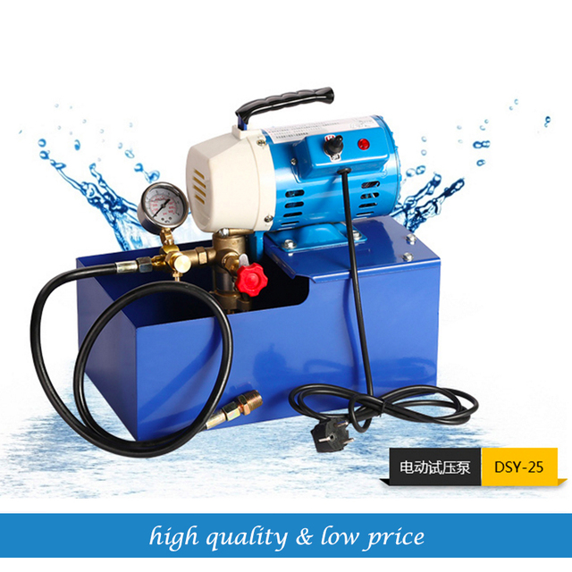 free shipping 220V 50HZ Electric Testing Equipment Hydraulic Piston Testing Pump