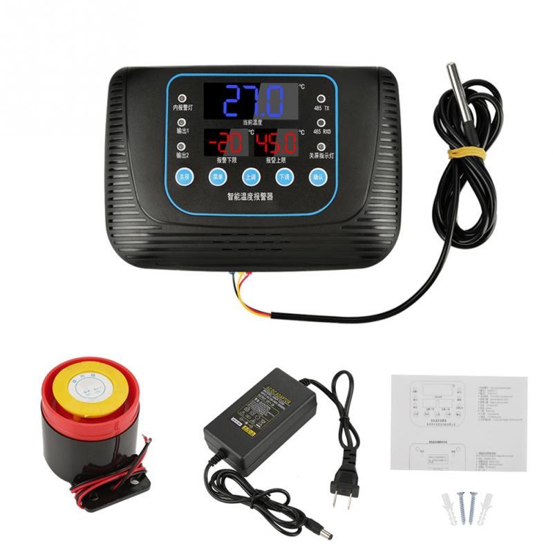Thermostat numérique de régulateur de température d'incubateur d'oeufs de 1 Pc avec le capteur pour la serre d'incubateur d'oeufs DC 12 V